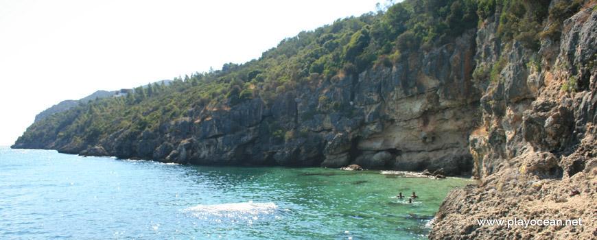 Maré cheia na Praia dos Pilotos