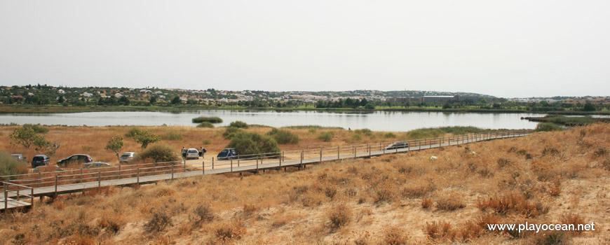 Acesso junto à Lagoa dos Salgados
