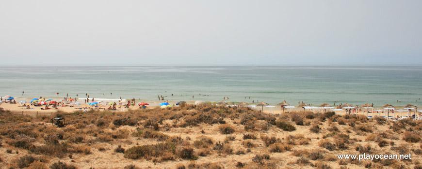 Mar na Praia Grande de Pêra (Nascente)