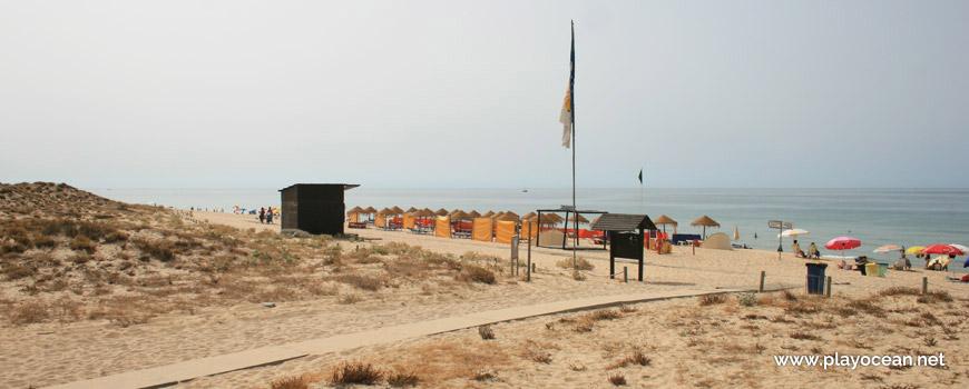 Entrada da Praia Grande de Pêra (Poente)