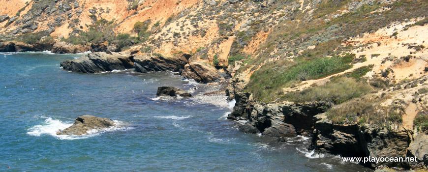 Rochedos Praia do Burrinho
