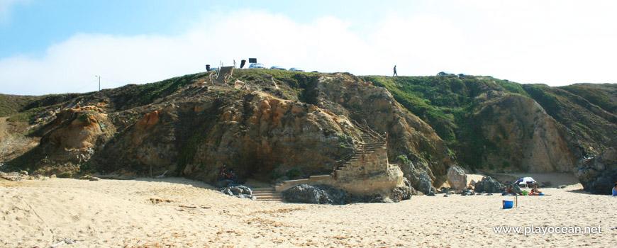 Escadaria da Praia do Canto Mosqueiro
