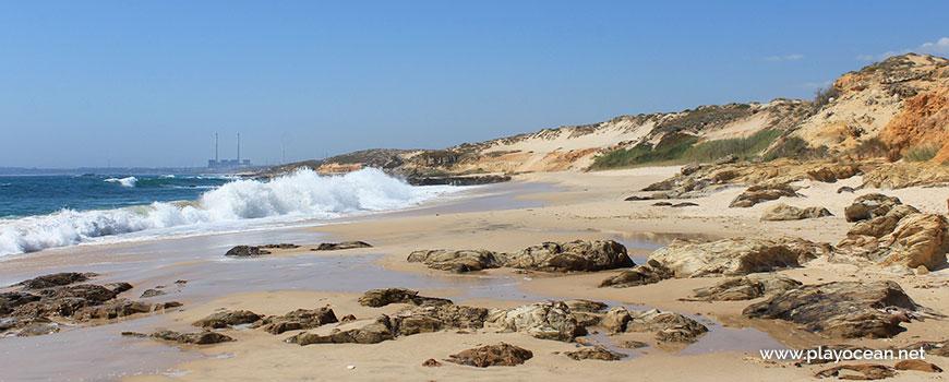 Rebentação na Praia dos Canudos