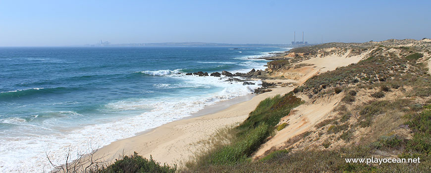 Vista sobre a Praia dos Canudos