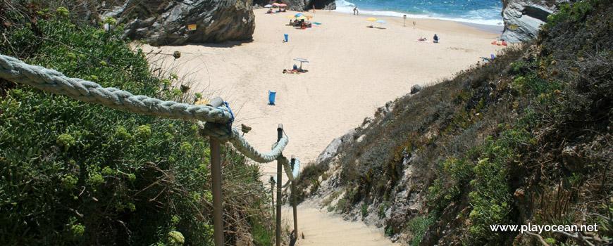 Escadas Praia Cerca Nova
