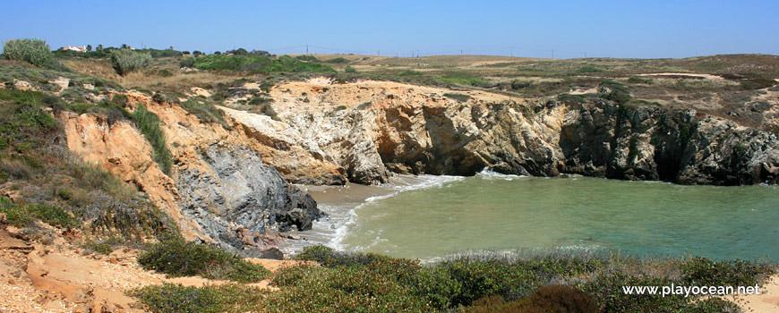 South of Praia da Engardaceira Beach
