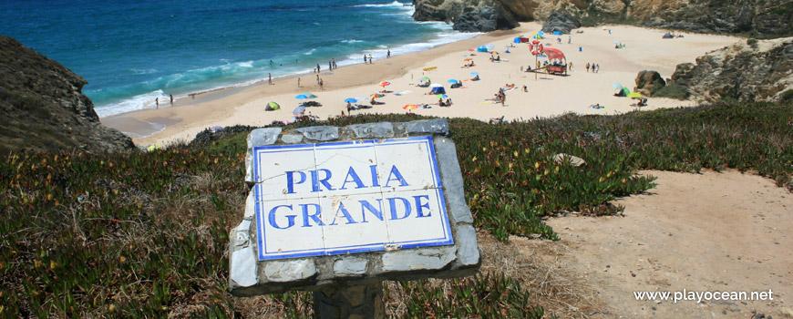 Marco Praia Grande de Porto Covo