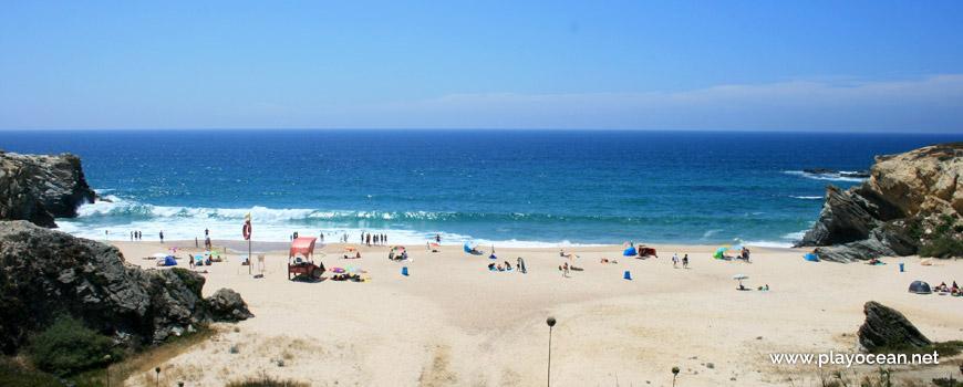 Areal Praia Grande de Porto Covo