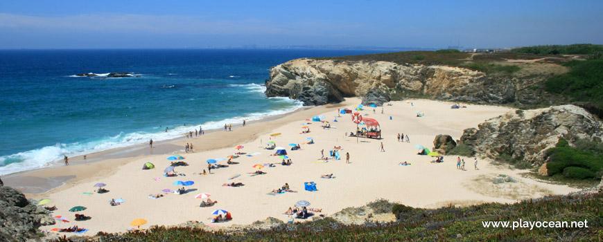 North Praia Grande de Porto Covo Beach