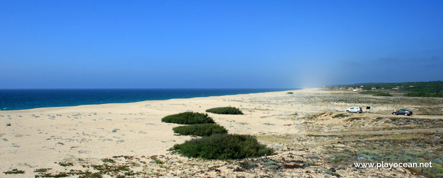North Praia da Guia Beach