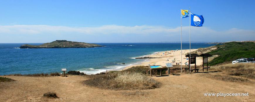 Entrada da Praia da Ilha do Pessegueiro