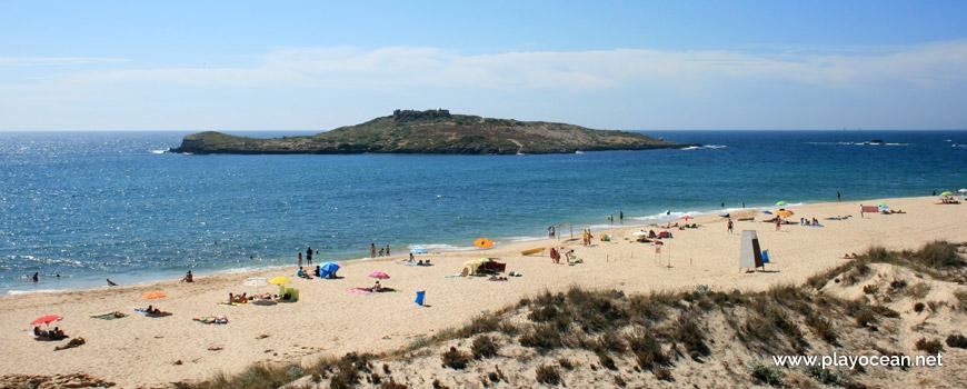 Areal da Praia da Ilha do Pessegueiro