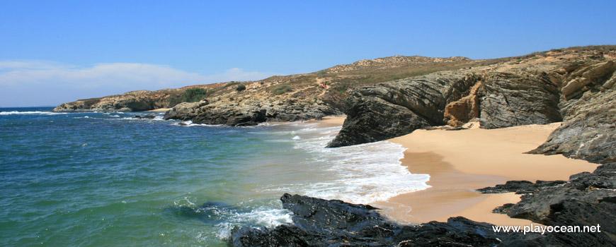 Areais Norte da Praia Ilha do Pessegueiro