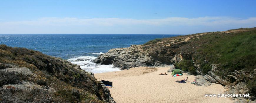 Areal a Norte da Praia da Ilha do Pessegueiro