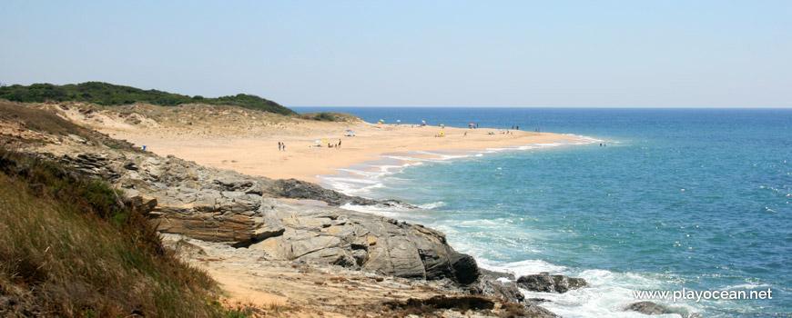 Naturismo a Norte da Praia da Ilha do Pessegueiro