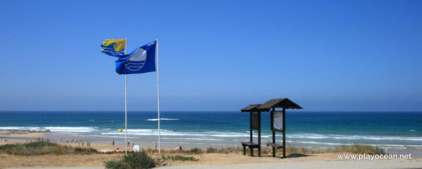 Bandeiras Praia de Morgavel
