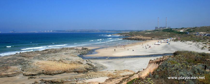 Ribeira de Morgavel e Norte Praia de Morgavel