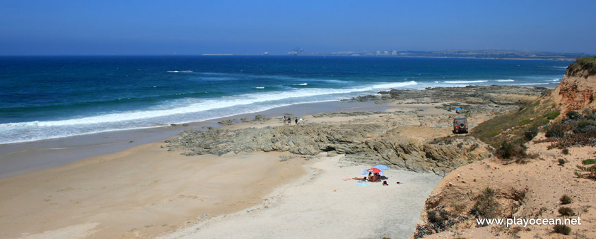Rochedos Praia da Navalheira