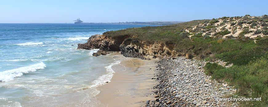 Norte na Praia da Pelengana