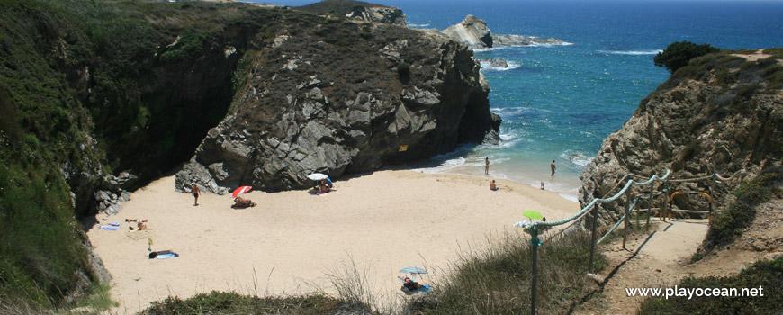 Stairs of Praia de Porto Covinho Beach