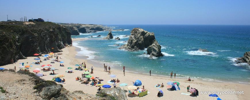 Sul, centro da Praia da Samoqueira