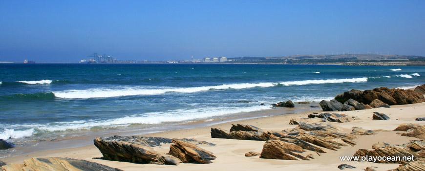 Rochedos Praia de São Torpes