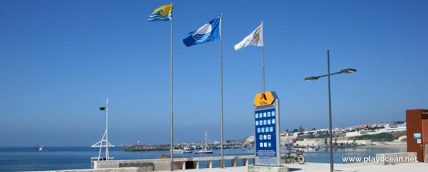 Bandeiras Praia Vasco da Gama