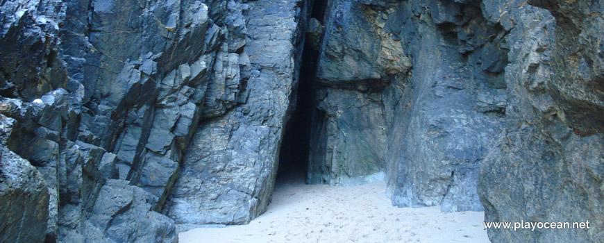 Hole at Praia do Cavalo Beach