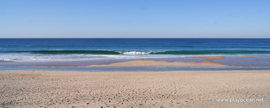 Mar na Praia Grande do Rodízio