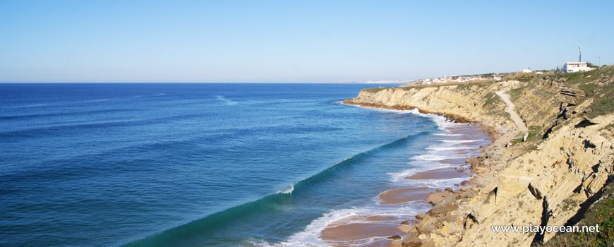 Panoramic of Praia Pequena do Rodízio Beach