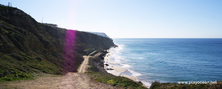 Acesso à Praia Pequena do Rodízio
