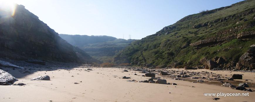 Cliffs at Praia da Samarra Beach