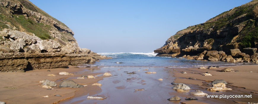 Mar na Praia da Samarra