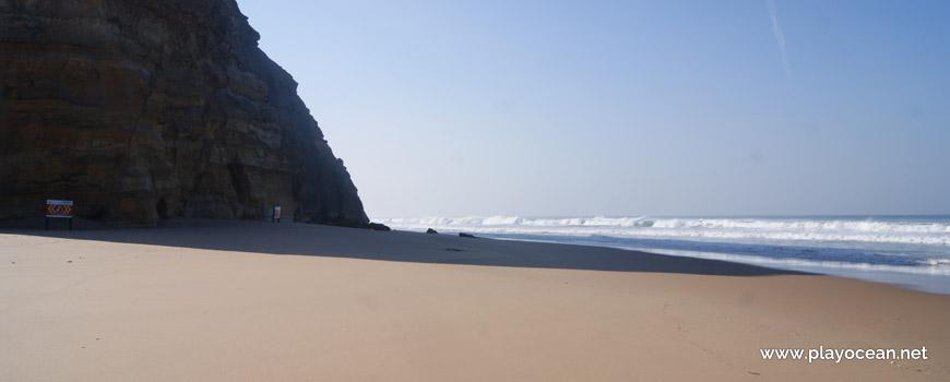 Sul na Praia de São Julião