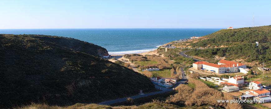 Panorâmica da Praia de São Julião
