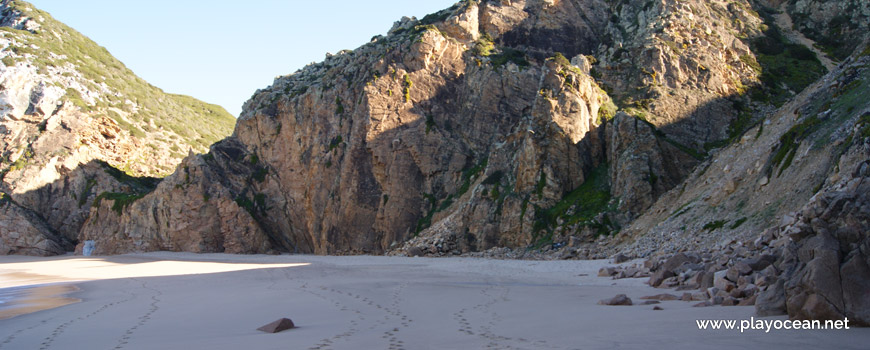Cliff at Praia da Ursa Beach