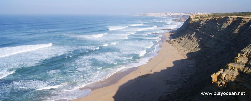 Praia da Vigia Beach and Ericeira