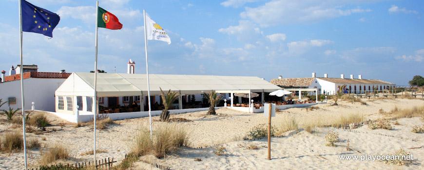Banners at Praia do Barril Beach