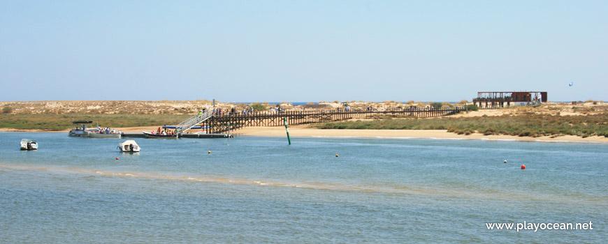 Wharf, Praia de Cabanas (Sea) Beach