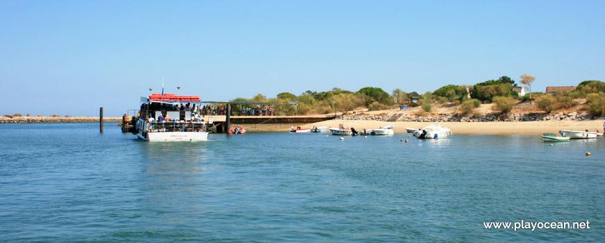 Wharf of Tavira Island