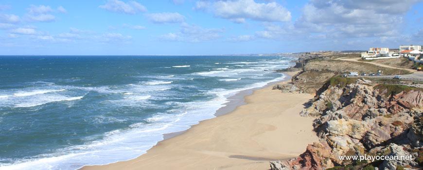 North at Praia do Amanhã Beach