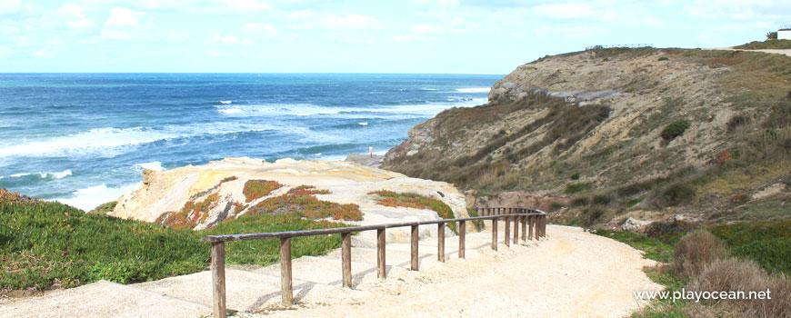 Descent at Praia do Amanhã Beach
