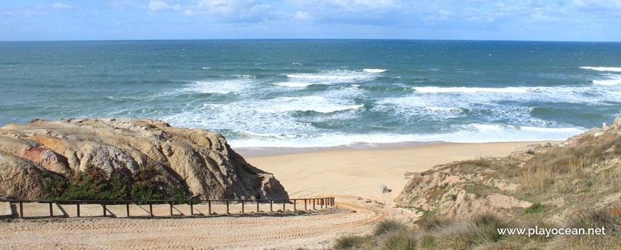 Access to Praia do Amanhã Beach