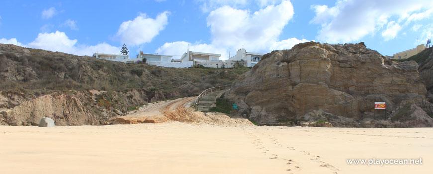 Cliff at Praia do Amanhã Beach