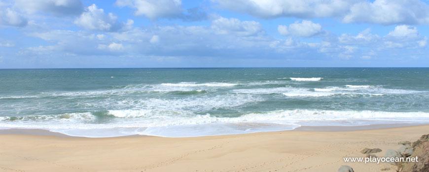 Sea at Praia do Amanhã Beach