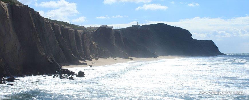 Panoramic of Praia das Amoeiras Beach