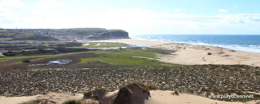 Dunas na Praia Azul