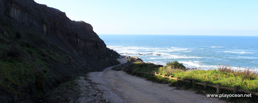 Access to Praia do Baío Beach