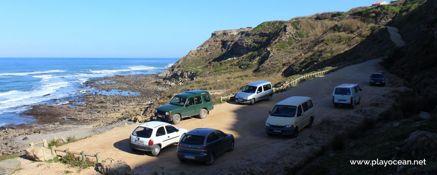 Cars at Praia do Baío Beach