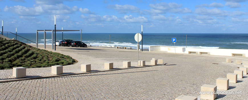 Estacionamento na Praia do Centro
